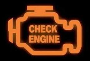 Check Engine Light On Dashboards